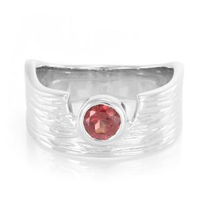 Lindi-Granat-Silberring