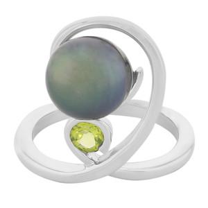 Tahitiperlen-Silberring