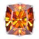 18K Spanish Sphalerite Gold Ring